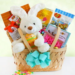 Easter Bunny Deluxe Gift Basket