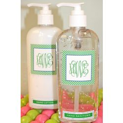 Personalized Lotion Bottles
