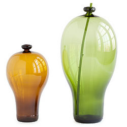 Recycled Beer or Wine Bottle Vase