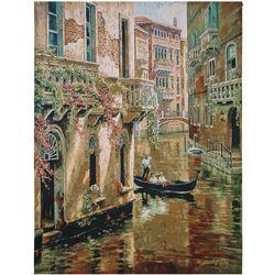 Gondola in Venice Tapestry