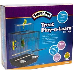 Super Pet Treat Play-N-Learn Parakeet Bird Cage