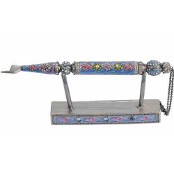 Torah Pointer with Crystal Accents