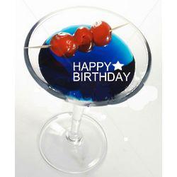 Happy Birthday Edible Sugar Phrases