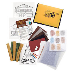 Homes Around World Design Studio Art Kit