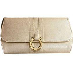Leather Jewelry Folder Travel Wallet