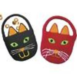 Halloween Cat Treat Bags