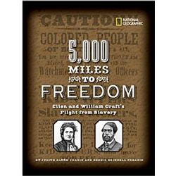 5,000 Miles to Freedom Hardcover Book
