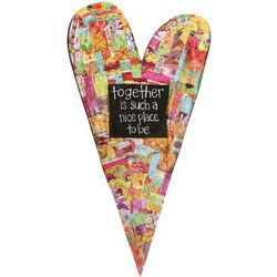 Together Heart Plaque
