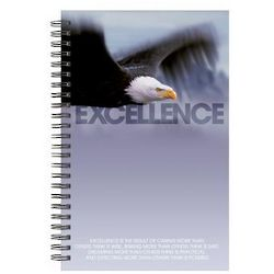 Excellence Eagle Spiral Notebook