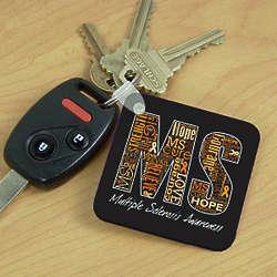 MS Word-Art Key Chain