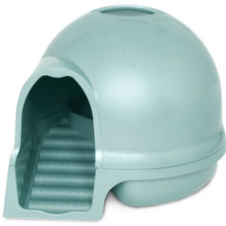 Clean Step Dome Litter Box