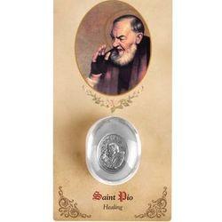 St. Pio Healing Saint Pocket Stone