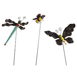 Recycled Wood Butterfly Garden Stake