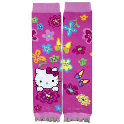 Hello Kitty Flowered Pink Leg Warmers