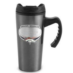 Denver Broncos Gunmetal Travel Mug