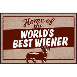 Home of the Worlds Best Weiner Doormat