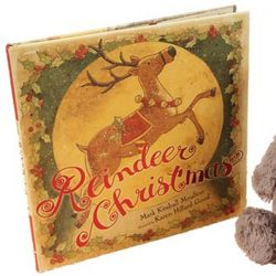 Reindeer Christmas Hardcover Children's Book