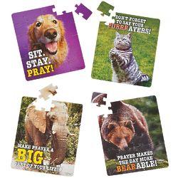 12 Realistic Praying Animal Puzzles