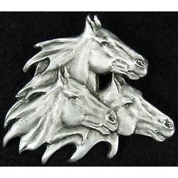 Pewter Horse Pin
