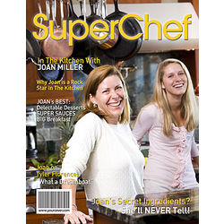 SuperChef Personalized Cooking Magazine Cover
