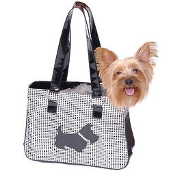Herringbone Pet Carrier
