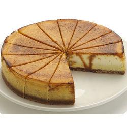 9 Inch Creme Brulee Cheesecake