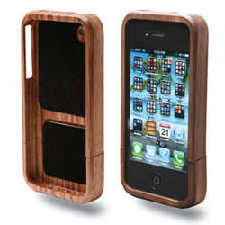 Wood iPhone 4 Case