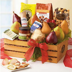 Gail Simmons Holiday Snack Basket