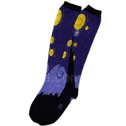 Women's Starry Night Knee Socks