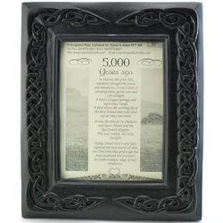 Irish Peat Celtic Picture Frame