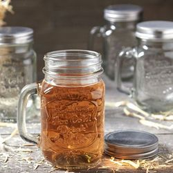 Ice Cold Mason Jar Mugs