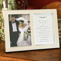 Lenox Jubilee Pearl Wedding Invitation Picture Frame