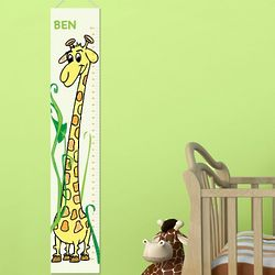 Personalized Boy's Growth Chart