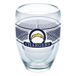 2 San Diego Chargers Stemless Wine Glasses