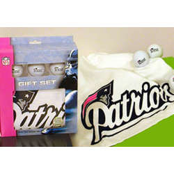 Patriots Golf Gift Set