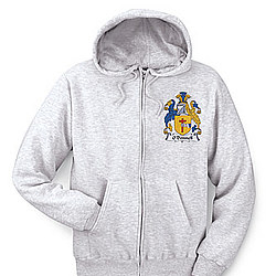Personalized Coat of Arms - Left Crest Full-Zip Hoodie