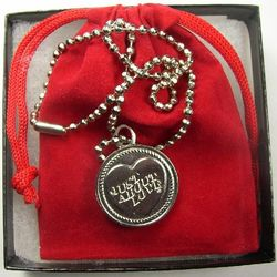 Just About Love Pendant Necklace