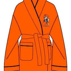 Ladies Oklahoma State Solid Cozy Robe