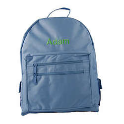 Personalized Children's Backpack in Light Blue
