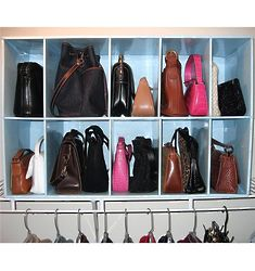 Park-A-Purse Organizer Closet Storage