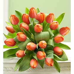 Autumn Sunset Tulips Bouquet