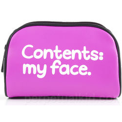 Contents My Face Cosmetics Bag