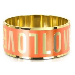 Love Moschino Signature Metal Bangle