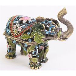 Parade Elephant Trinket Box - FindGift.com