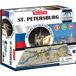 St. Petersberg 4D Cityscape Puzzle