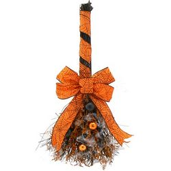 Spooky Spider Halloween Broom