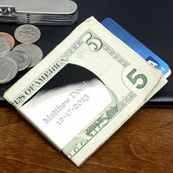 Homecrest Personalized Money Clip