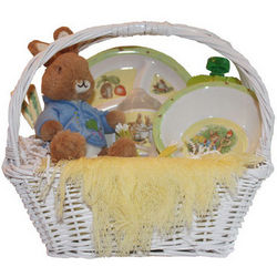 Baby's Peter Rabbit Gift Basket