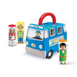 Twist and Learn Busy Bus with Career Characters