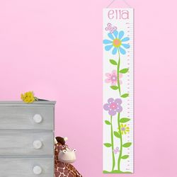 Personalized Girl's Growth Chart